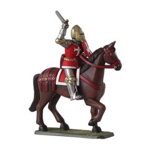 Gjutform - English Knight on horse